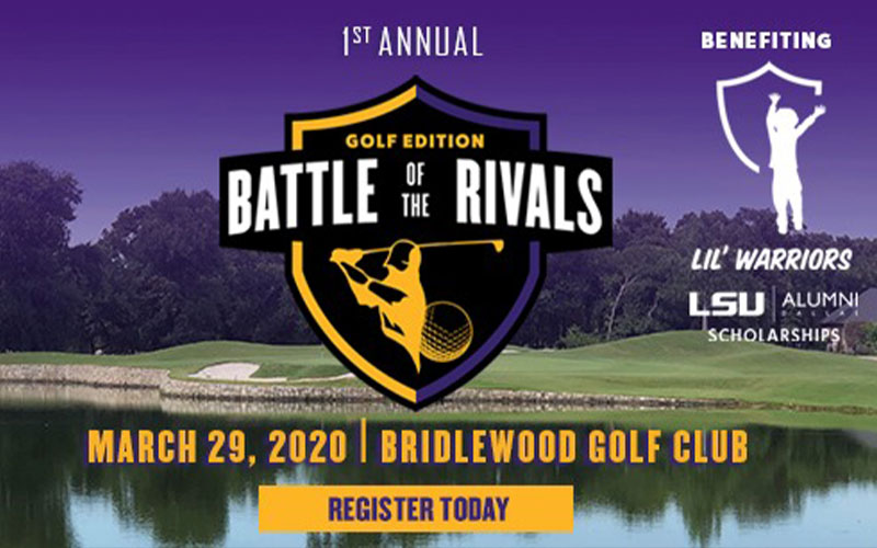 LIL' WARRIORS - Battle of the Rivals Golf Tournament