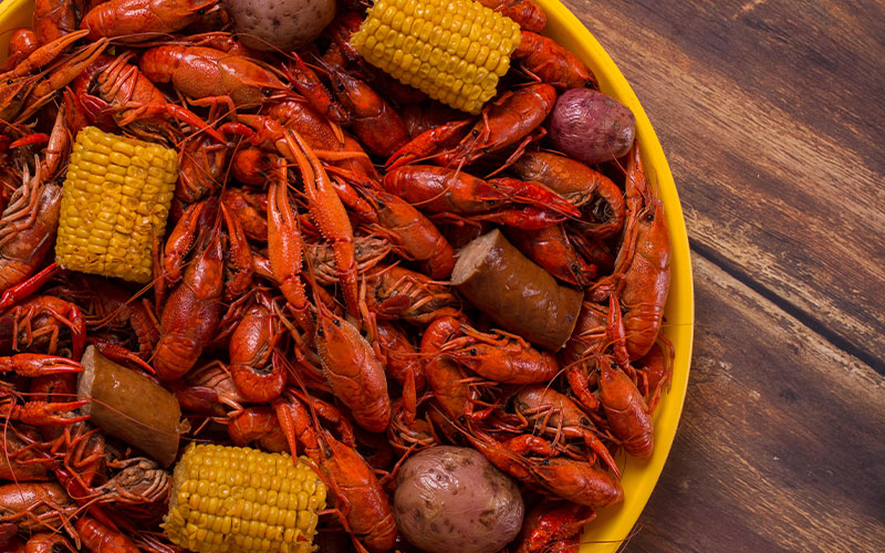LIL' WARRIORS Crawfish Boil